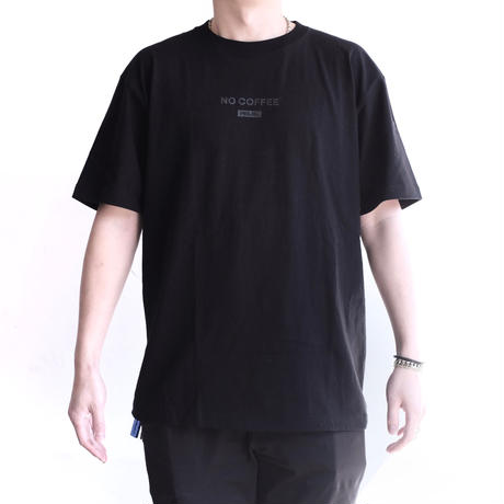 NO COFFEE×MILKFED. S/S TEE BLACK