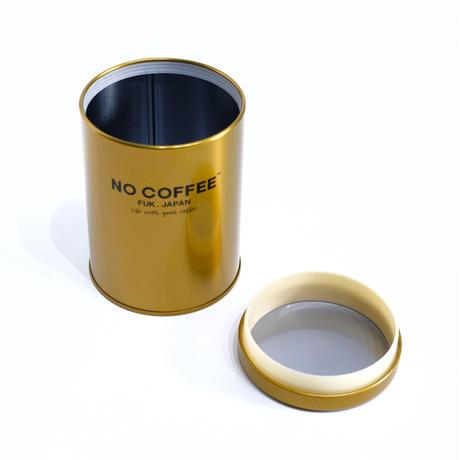 NO COFFEE キャニスター缶(ゴールド)