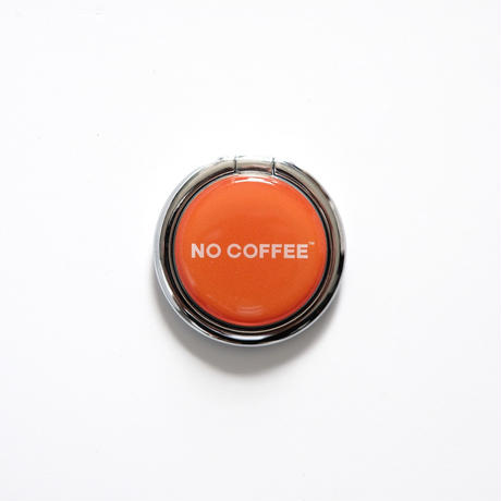 「NO COFFEE COLOR COLLECTION」スマートリング ロゴ
