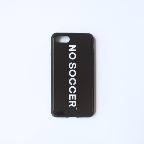 NO SOCCER iPhone ケース  BLACK
