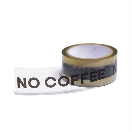 NO COFFEE パッキングテープ