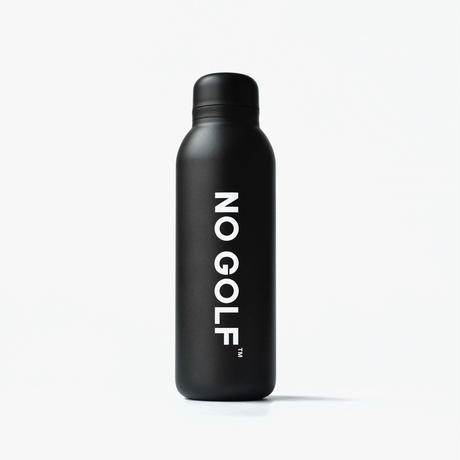 NO GOLF STAINLESS BOTTLE