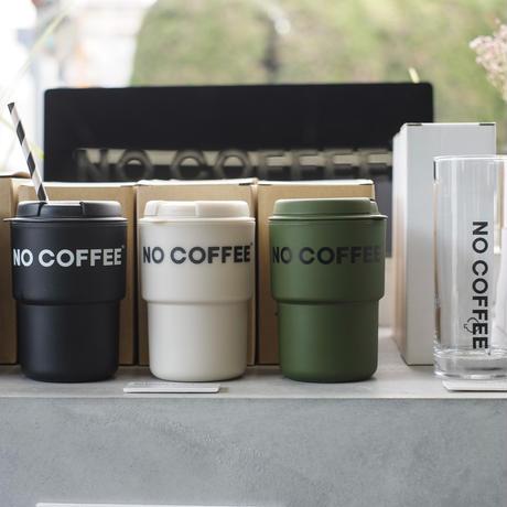 NO COFFEE タンブラー(カーキ)