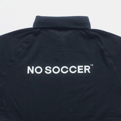 NO SOCCER 2021 ポロシャツ ブラック