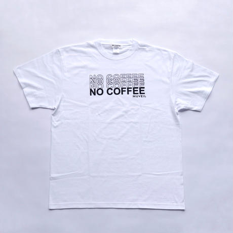 NO COFFEE × MUVEIL ロゴTシャツ