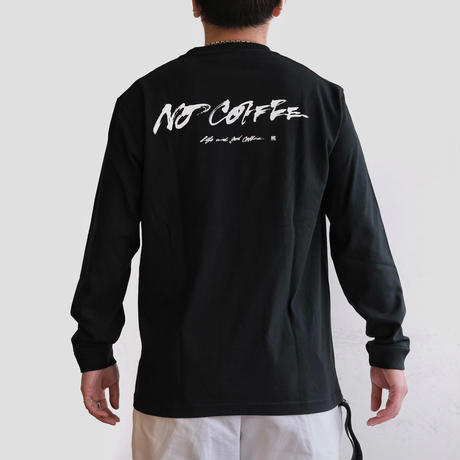 NO COFFEE × SHIDO AKAMA L/S TEE