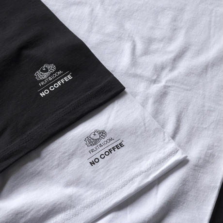NO COFFEE × FRUIT OF THE LOOM 2 PACK Tシャツ