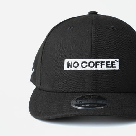 NO COFFEE × NEW ERA 9FIFTY LOW PROFILE CAP