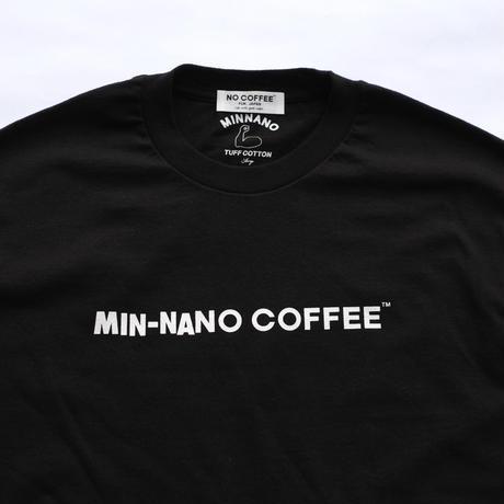MIN-NANO COFFEE ロゴ Tシャツ