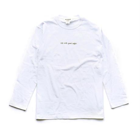 NO COFFEE LS Tシャツ LWGC (ホワイト)