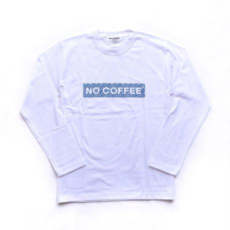NO COFFEE × SEVESKIG LS Tシャツ( ホワイト)