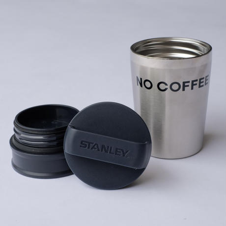 NO COFFEE × STANLEY 真空マグ 0.23ℓ SILVER