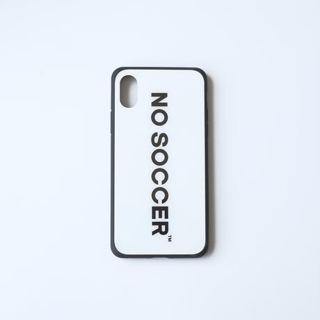 NO SOCCER iPhone ケース  WHITE