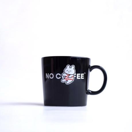 NO COFFEE×きっこうちゃん コラボマグカップ(ブラック)