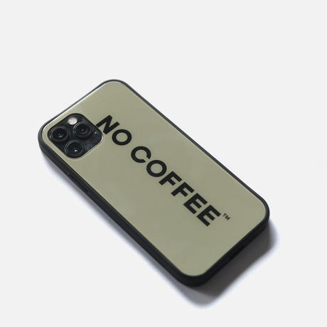 NO COFFEE iPhone case BEIGE