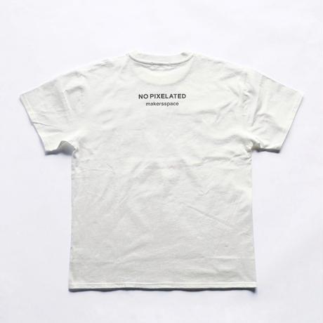 """NO PIXELATED"" Tシャツ"