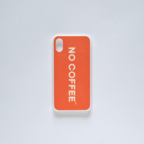 「NO COFFEE COLOR COLLECTION」iPhone X・XS 兼用ケース