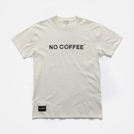 NO COFFEE ロゴTシャツ Ver.2