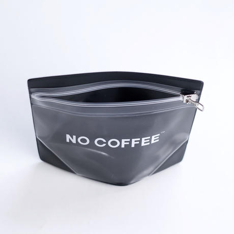 NO COFFEE Gusset Pouch S