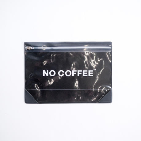 NO COFFEE Gusset Pouch L