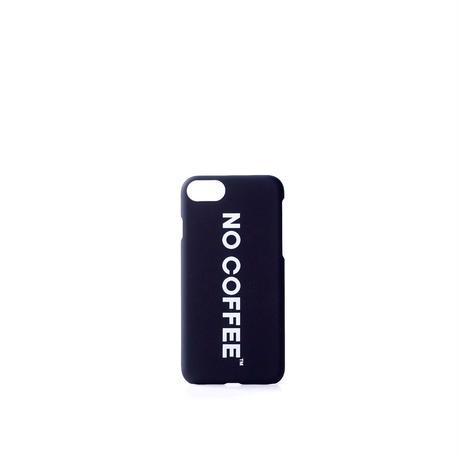 NO COFFEE iPhone7・8兼用ケース(ブラック)