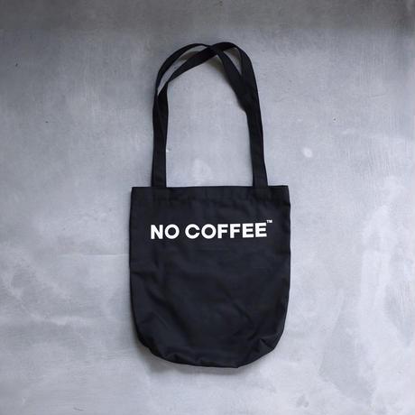 NO COFFEE トートバッグ(ブラック)