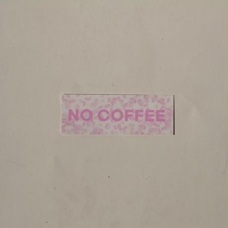 NO COFFEE × plantica ステッカー