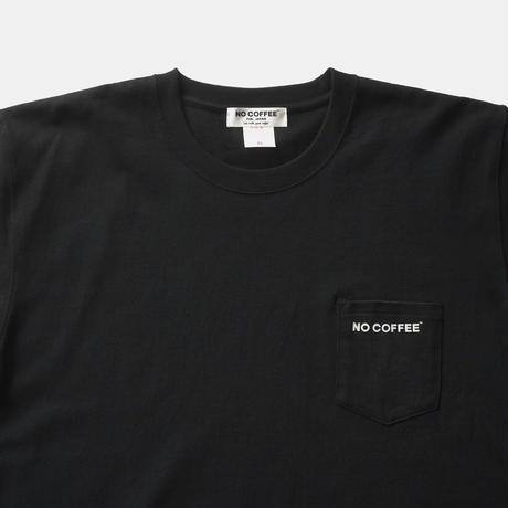 NO COFFEE ポケットTシャツ(BLACK)
