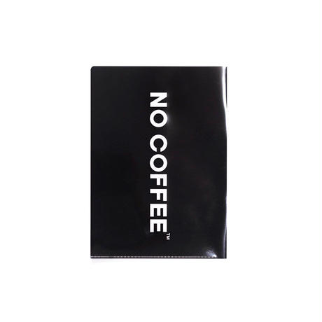 NO COFFEE クリアファイル3枚セット