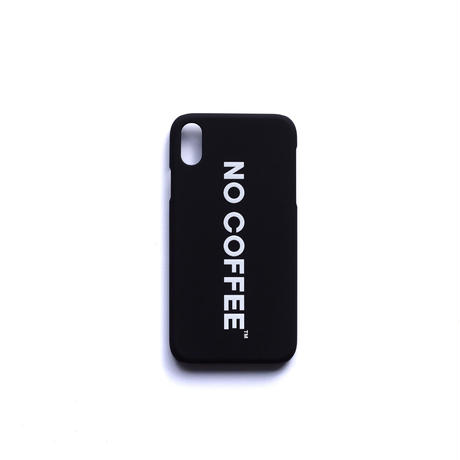 NO COFFEE iPhone XR 用ケース