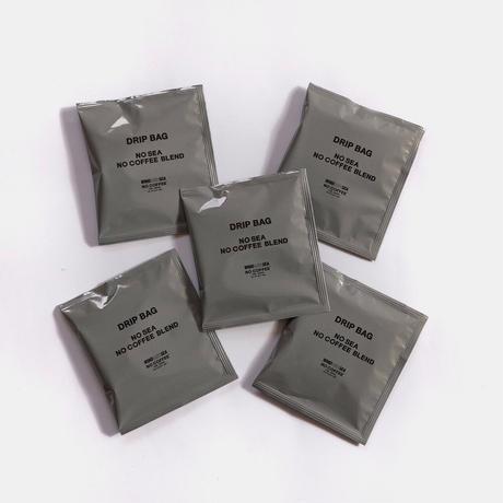 NO COFFEE × WDS DRIP BAG 5pcs set