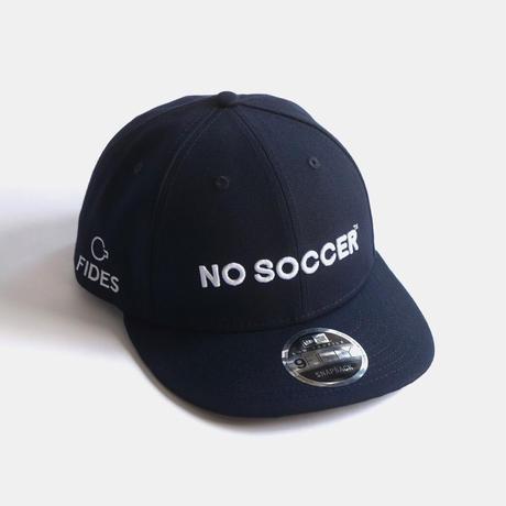 NO SOCCER NEW ERA 9FIFTY LOW PROFILE CAP NAVY