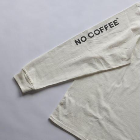NO COFFEE ロゴ L/S Tシャツ Ver.2