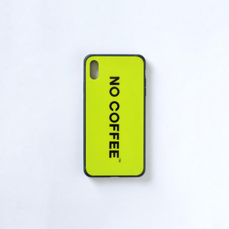 「NO COFFEE COLOR COLLECTION」iPhone XS Max用ケース