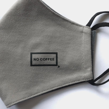 NO COFFEE × BOTANIZE × FIRSTORDER マスク(ダークグレー)