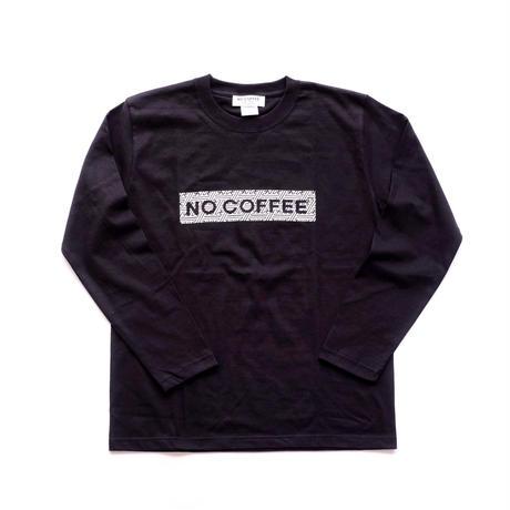 NO COFFEE × SEVESKIG LS Tシャツ( ブラック)