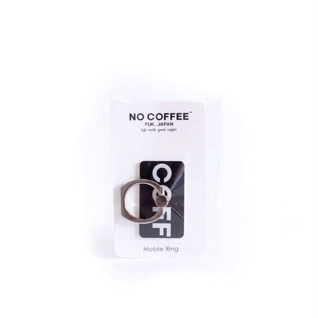 "NO COFFEE Mobile Ring ""COFF""(ブラック)"