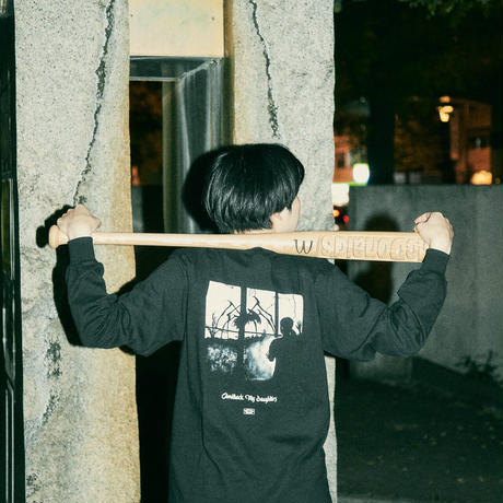 """Comeback My Daughters  """"IT""""  Long Sleeve T-shirts(Black)"""
