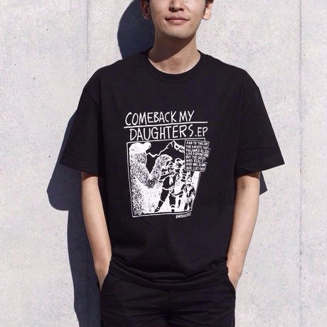 "Comeback My Daughters ""Tiffany"" Tee Black"