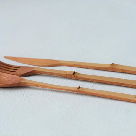 高野竹工 x NODATE bamboo カトラリー
