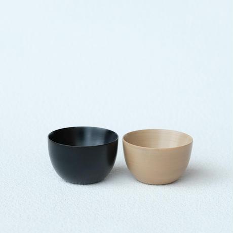 Sanyoshi x NODATE bowl70 2個セット 【会津塗メイプルボウルペア】