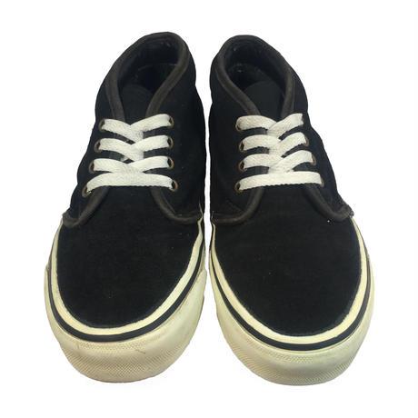 VANS 80's CHUKKA BOOTS BLACK SUEDE