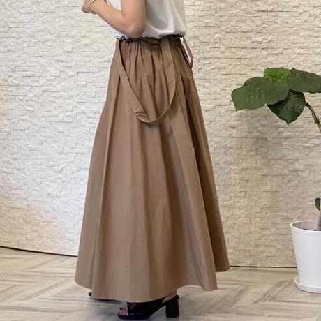 2wayサロペットスカート