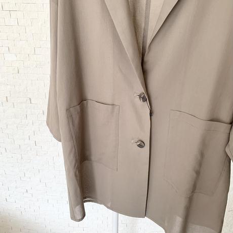 コットンテーラードジャケット