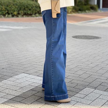 """""""INDIMARK""""ワイドデニム 23サイズ"""