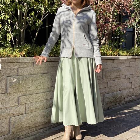 エコレザーフレアスカート