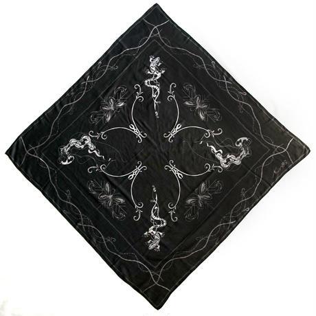 トカゲ&クラゲ ストール / Lizard&Gellyfish Shawl