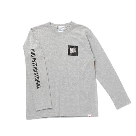 DUOボックスロゴ ロングTシャツ