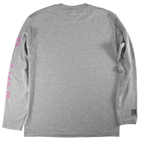 BeachWalker ロングTシャツ グレー