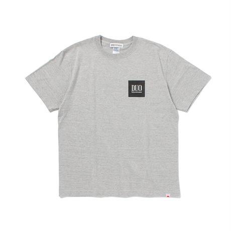 DUOボックスロゴTシャツ グレー